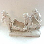 Austria Group of 3 Naked Boys and Baskets