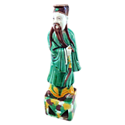 Handmade Chinese Figure of Immortal Lu Dong-Bin