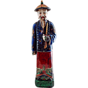 Chinese Imperial Court Figurine in Traditional Dress