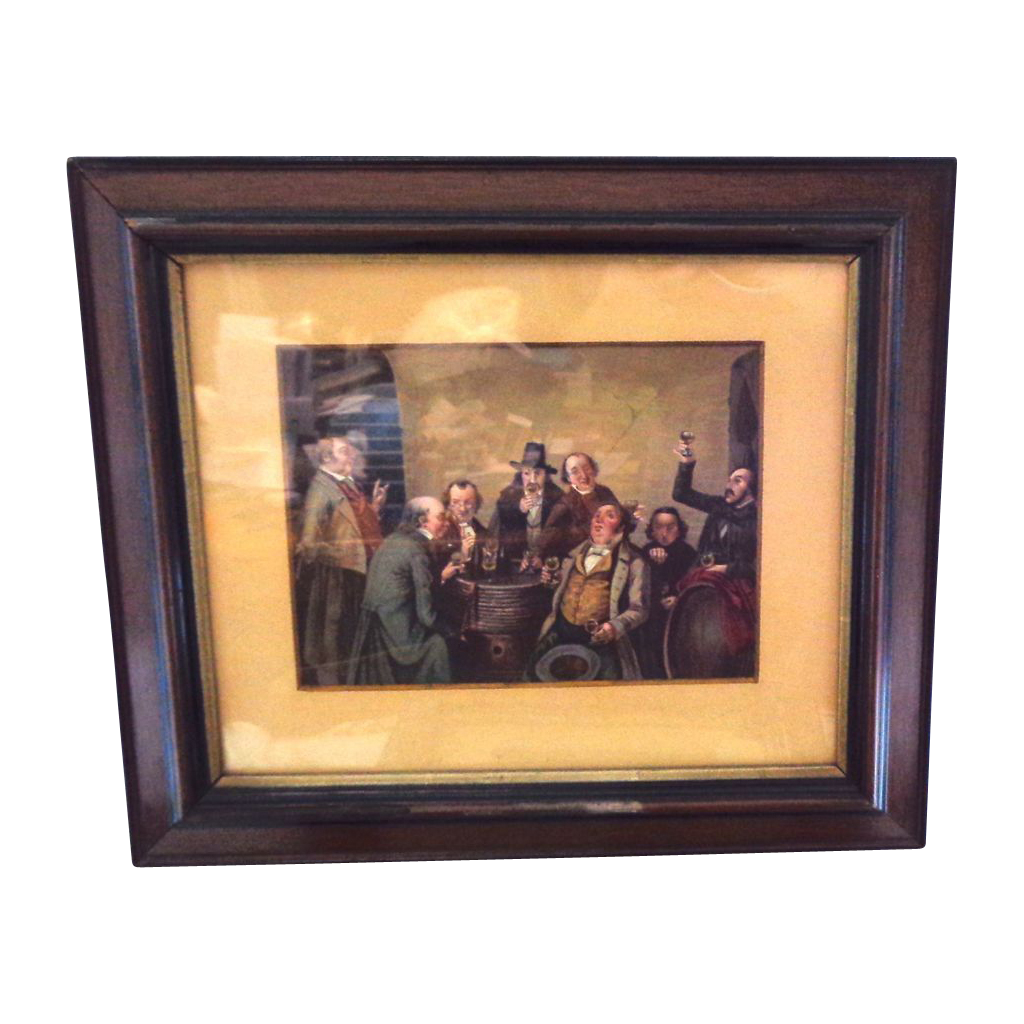 Antique Framed Mezzotint of (2 of 2)