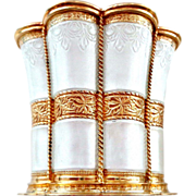 A. Michelsen Denmark Enamel on Sterling Queen Margrethe Cup (s)