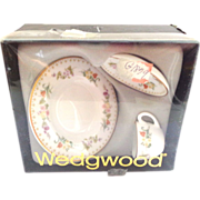 Wedgwood Mirabelle Miniature Set in Original Box