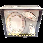 Wedgwood Mirabelle Miniature Set in Original Box