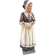 Tall Dahl Jensen Denmark Figurine of Scandinavian Girl