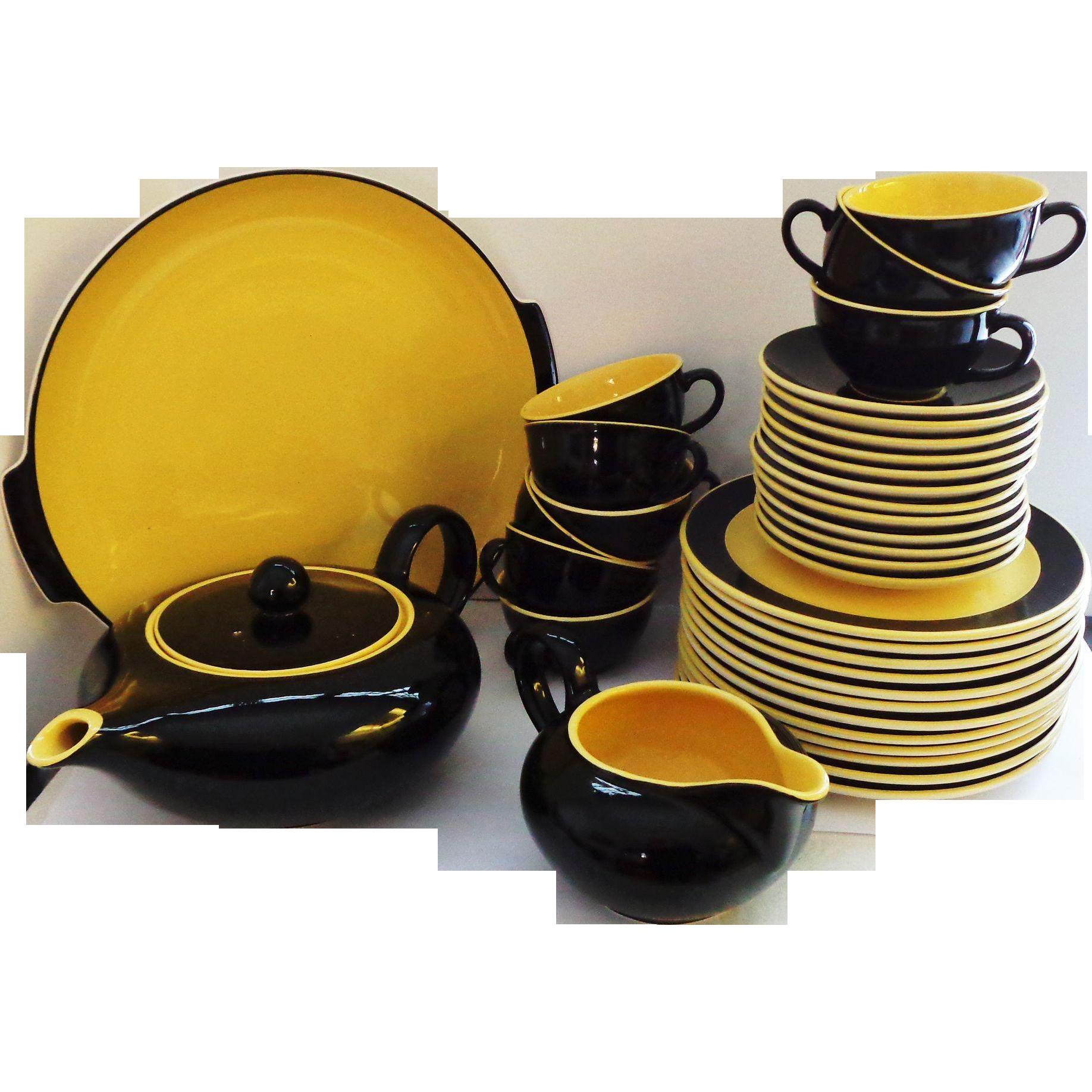 Villeroy & Boch Teapot Set - Biarritz Dessert Set