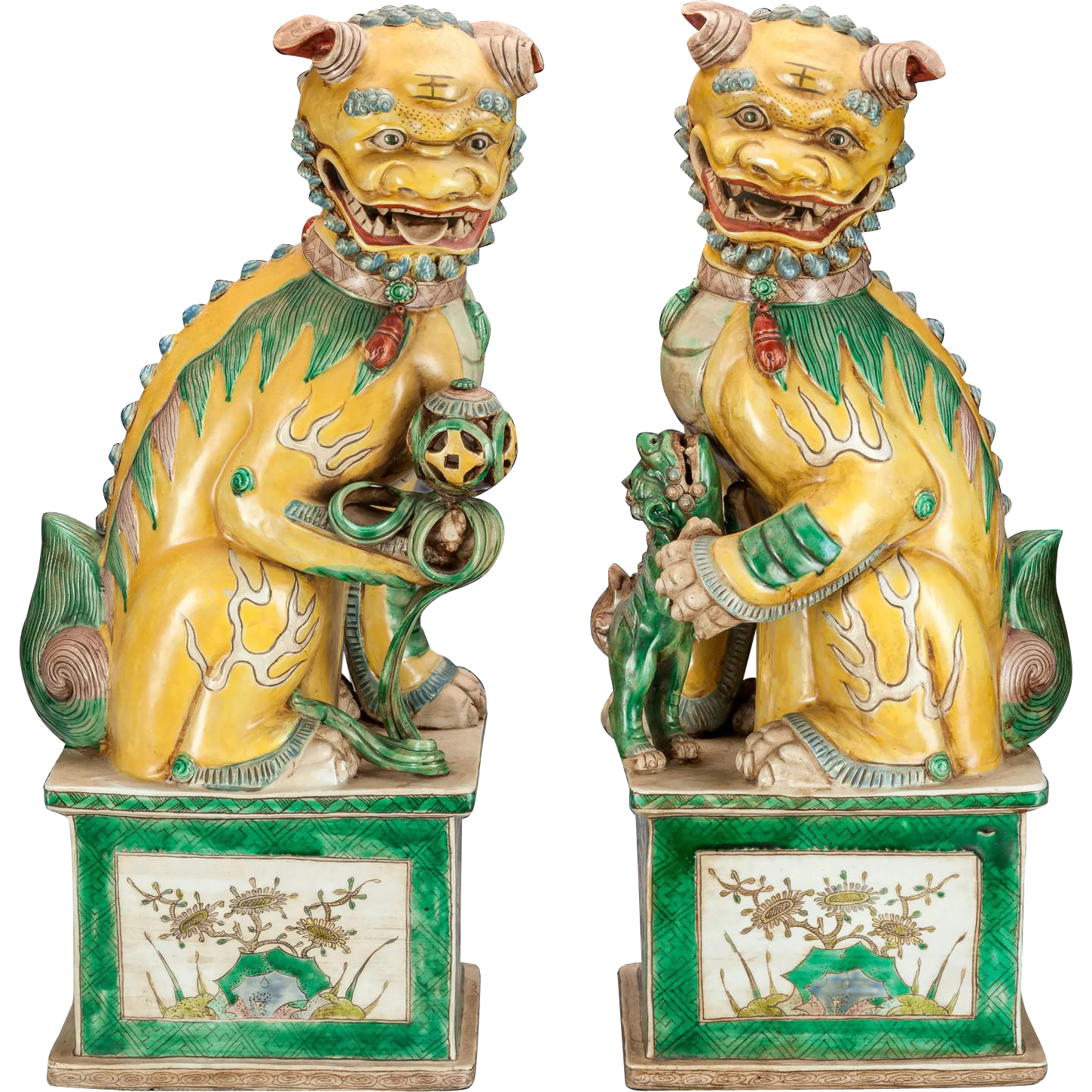 Our BEST EVER Pair of Chinese Foo Dogs