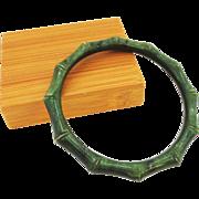 Carved Jade Bamboo Jade Bracelet