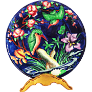 Maling Kingfisher Charger Plate