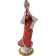 Lovely Older Capodimonte Figurine of Woman