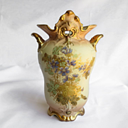 Magnificent Antique Austrian Porcelain Vase