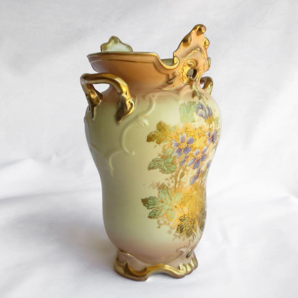 Magnificent Antique Austrian Porcelain Vase From The Vault
