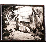 Native American Image Of Navajo Blanket Weaver
