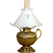 Circa 1880 Miniature Bradley & Hubbard Finger Oil Lamp