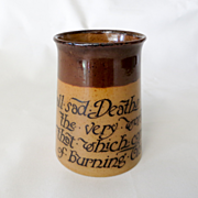 Rare 19th Century Royal Doulton Drinking Mug