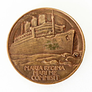 Dtd. 1936 Bronze Queen Mary Commemorative Medal