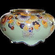 Antique Japanese Cloisonne Bowl
