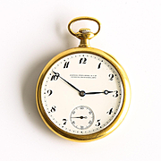 Circa 1916 18K Patek Philippe Pocket Watch