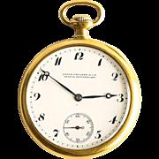Circa 1916 18K Patek Philippe Pocket Watch