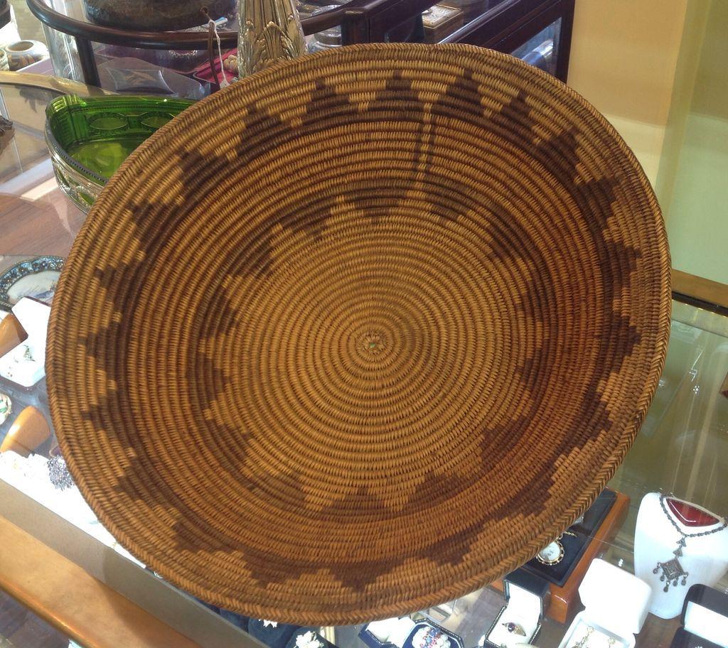 Circa 1900 Navajo 15 Inch  Wedding  Basket