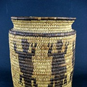 Circa 1900  Native American Indian Effigy Basket