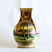 Beautiful Circa 1911 Scenic Nippon Vase