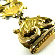 Ornate Victorian Gold Filled Watch Fob