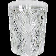 Set Of 10 Circa 1890 Brilliant Cut Glass Goblets