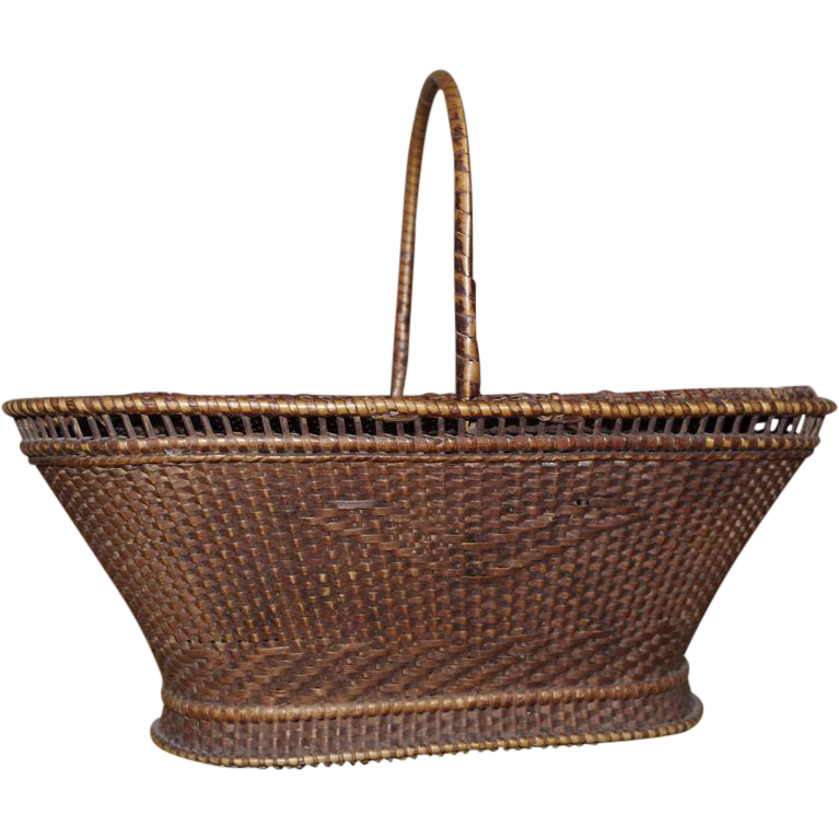 *** Lovely Wicker basket **