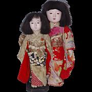 ** Two Ichimatsu Dolls ***