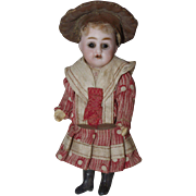 ** Lovely Small Bisque doll  All Original ** 1900