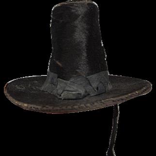 ** Lovely Early  Pelgrim Type Doll Hat ***1860