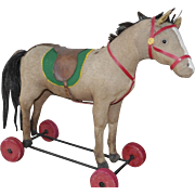 ** Nice Pull toy  Horse ***German