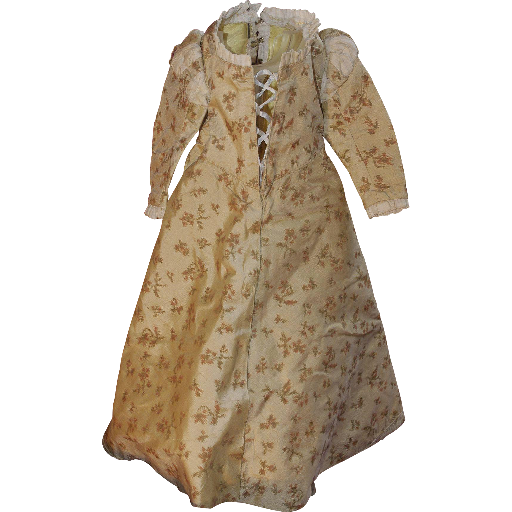 ** Nice Silk Doll Dress ***