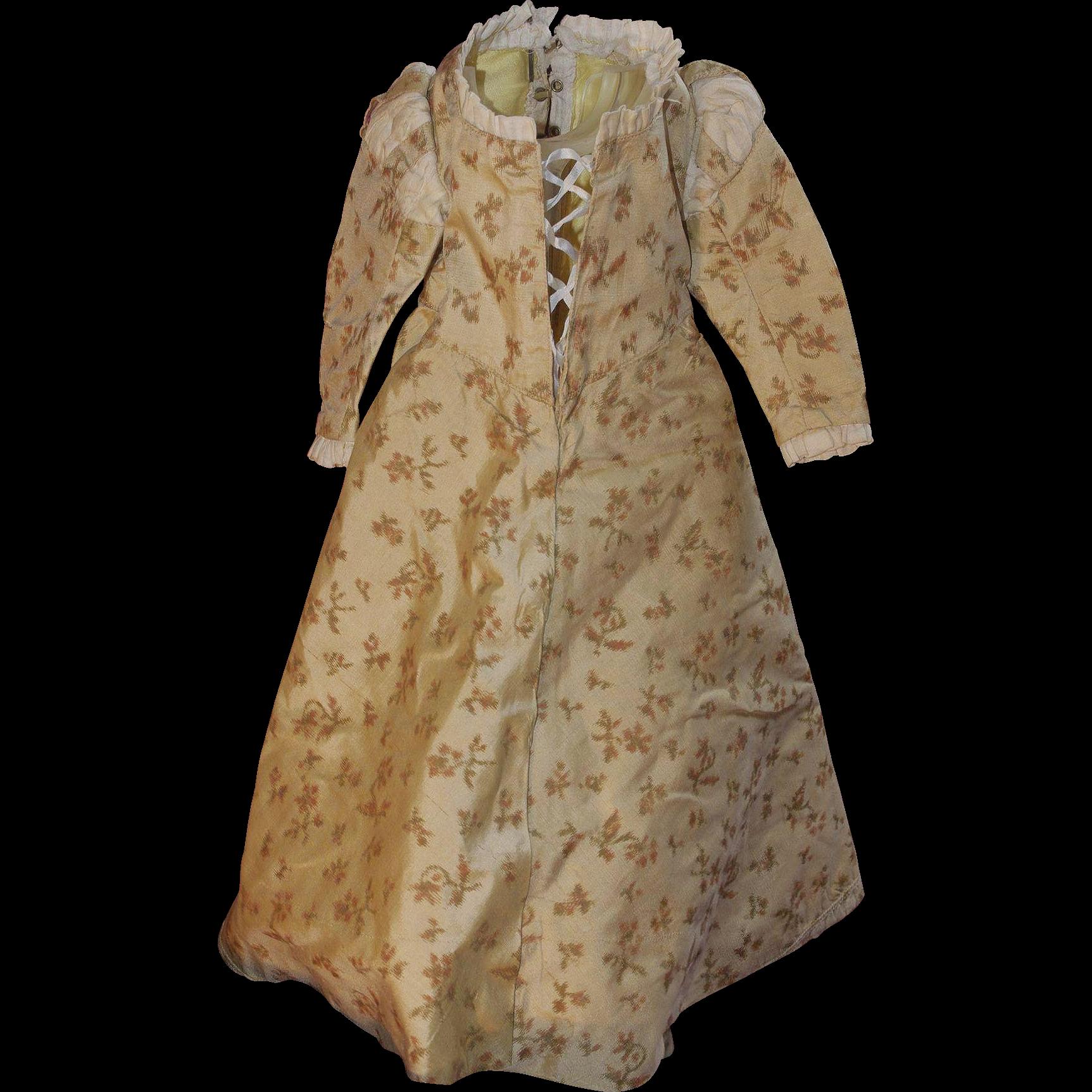 ** Nice Silk Doll Dress ***