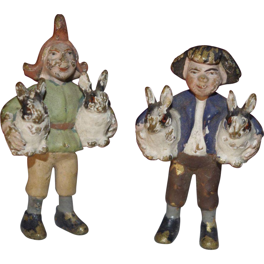 **Vienna Cold painted Bronze MAX and Moritz figures ***