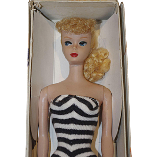 ** Blond ponytail Barbie in Box N4  or N5***