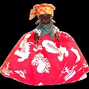 Vintage Black Americana: 1940's Celluloid Jamaican Doll