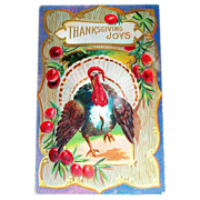 Thanksgiving Joys Postcard