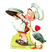 Little Chef & Goose Mechanical Valentine - Germany