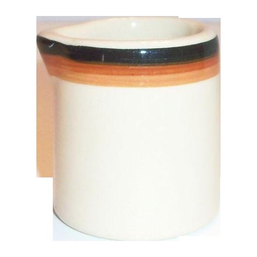 Inca Ware Individual Pottery Creamer
