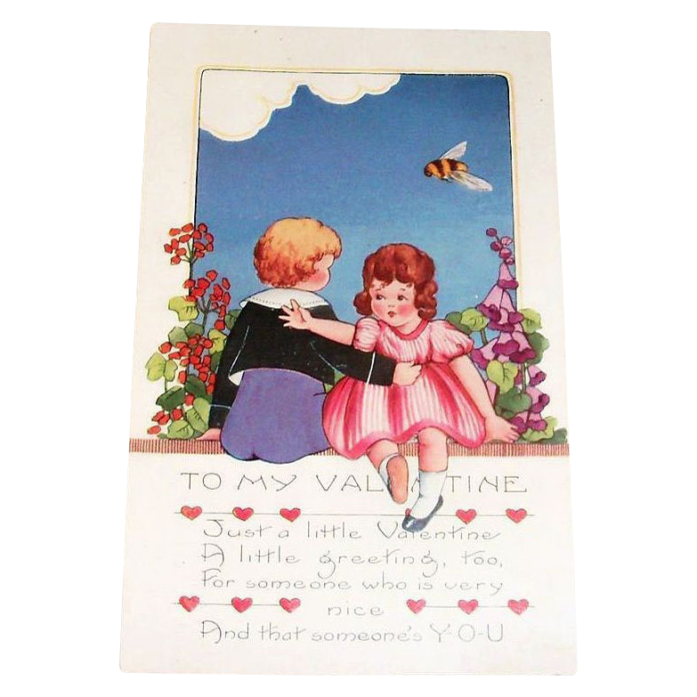 Whitney: To My Valentine Postcard