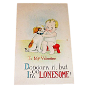 Vintage Pop-Up Style: To My Valentine Postcard