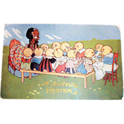 "Vintage Embossed ""A Joyful Easter"" Postcard"