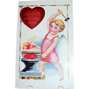 Hearts Repaired Here Valentine Postcard