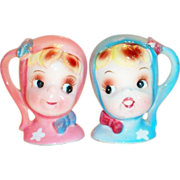 Napco Miss Cutie Pie Salt & Pepper Set