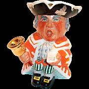 Wedgwood Hand Painted Bell Ringer Toby Mug