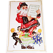 My Best Wishes For A Merry Christmas Postcard