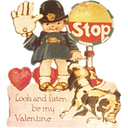 Vintage Stop! Look & Listen, Be My Valentine-Germany