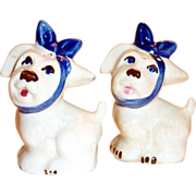Shawnee Pottery: Muggsy Tabletop Salt & Pepper Shakers