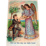 ABS: Give Us This Day Our Daily Bread Postcard - 1908